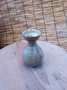 陶芸の一輪挿し1