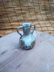 陶芸の一輪挿し2