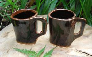 黒天目のコーヒーカップ