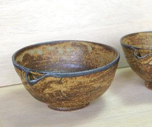 陶芸での完成した茶碗の画像